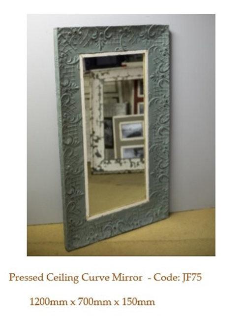Pressed Ceiling Curve Mirror