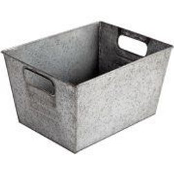 Galvanised Rectangular Crate