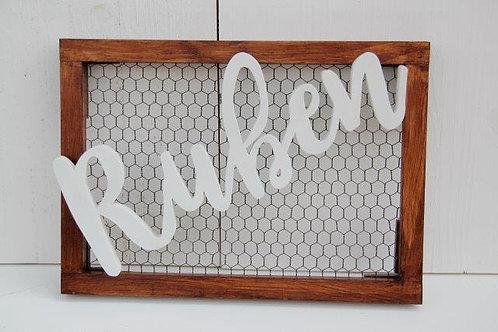 Meshed Frame Words