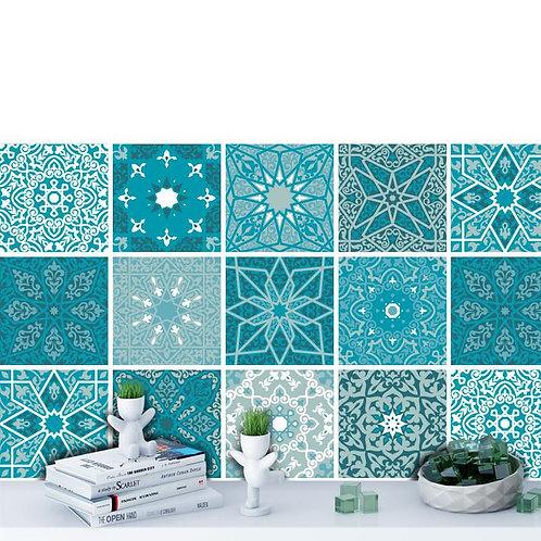 Set of  Vinyl Tiles - Arabesque