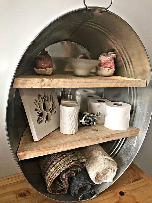 Round Xtra Large Shelf with backing