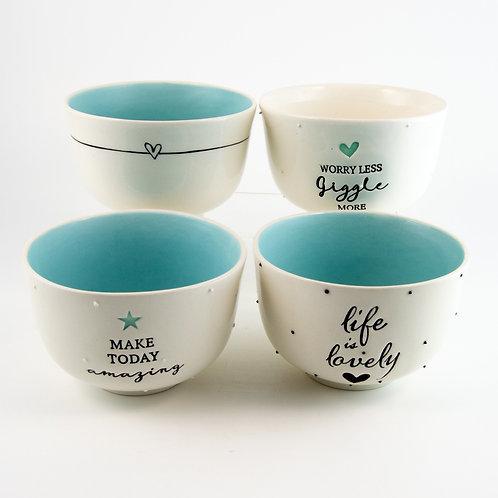 Breakfast Bowl Set (4) – Candy Love