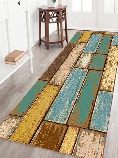 Nature Colour Wood Rug