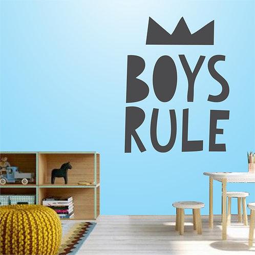 Wa047 - Boys Rule