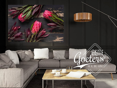 2021 Wood Protea Bunch