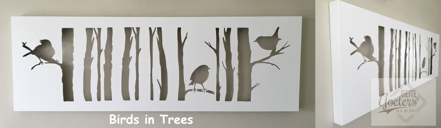 Birds in trees 2