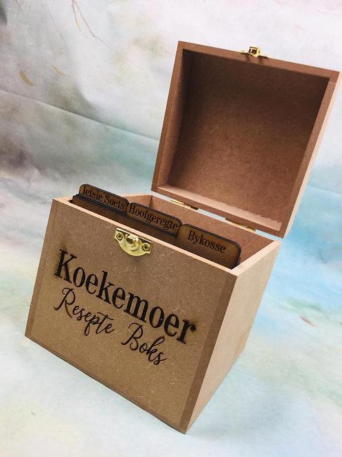 14cm Recipe Box