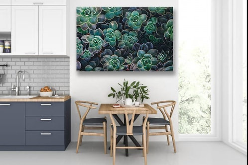 Steel/Wood 2020 Succulent Dark green