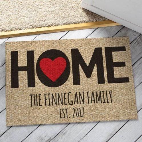 Valentine Home Doormat