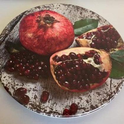 LAZY SUSAN – Pomegranite