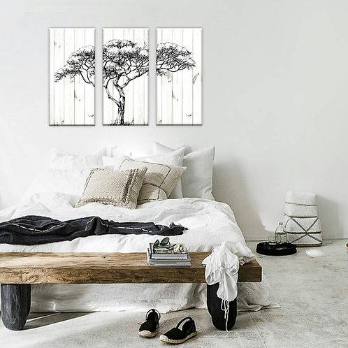Baobab Tree Trio Set of 3