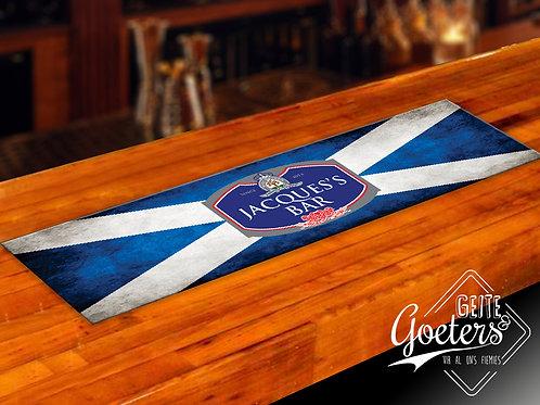 Bar runner Blue Cross