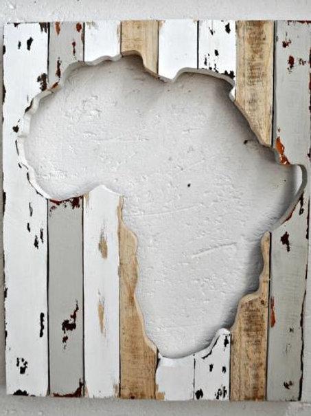 Afrika Hart Muur Teëls