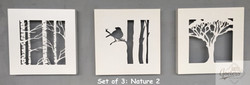 Set of 3 Nature 2