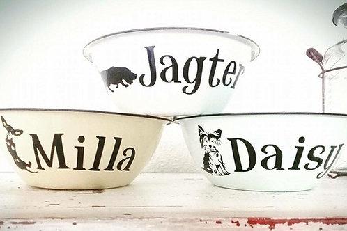 Honde Bakkies/ Dog Bowls