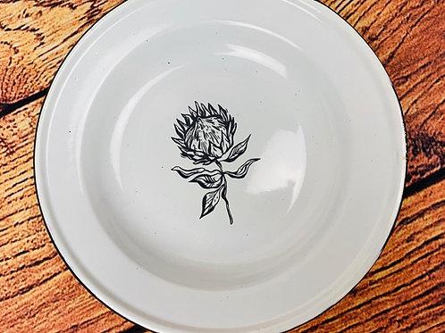Blik/tin Plate engraved