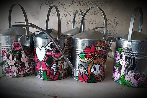 Hand Painted Gieter