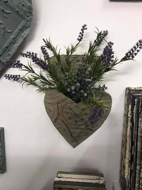 WHOLESALE SET of 2 Heart Planter