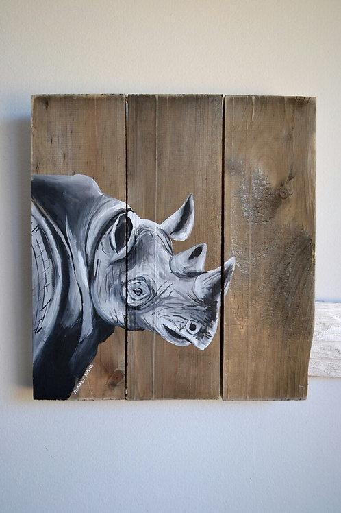Large Rhino Trio