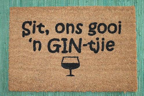 Doormat: Gin
