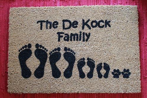 Feet Doormat