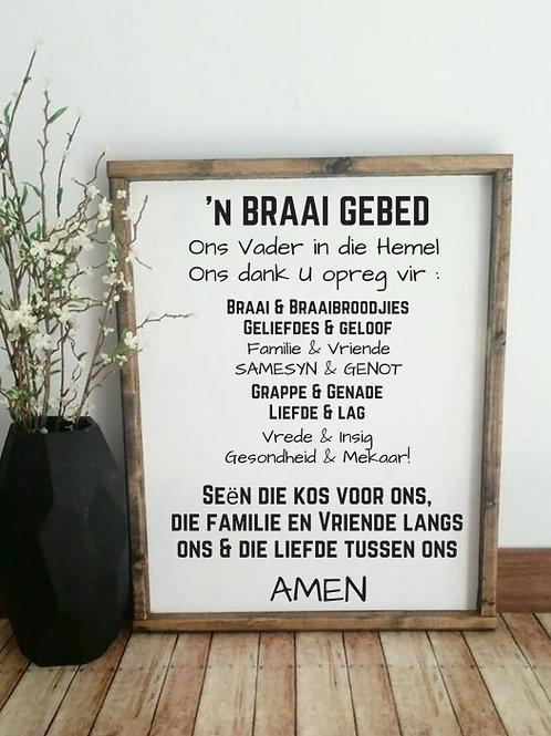 Braai Gebed