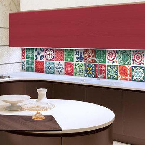 Set of Vinyl Tiles - Talavera