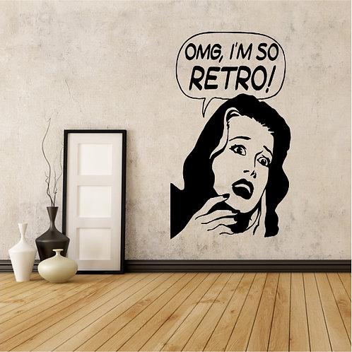 Vintage Retro Girl