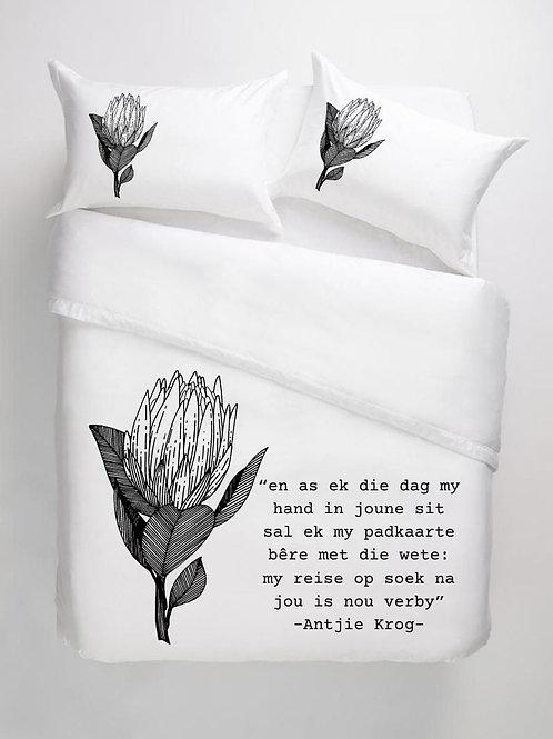 Bedding Protea Black Single