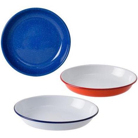 Plate Enamel 22cm Pasta