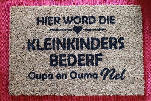 Kleinkinders bederf Doormat