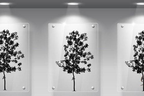 Perspex Tree Leaves Set of 3