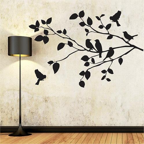 Birds on Branch (45) - Small