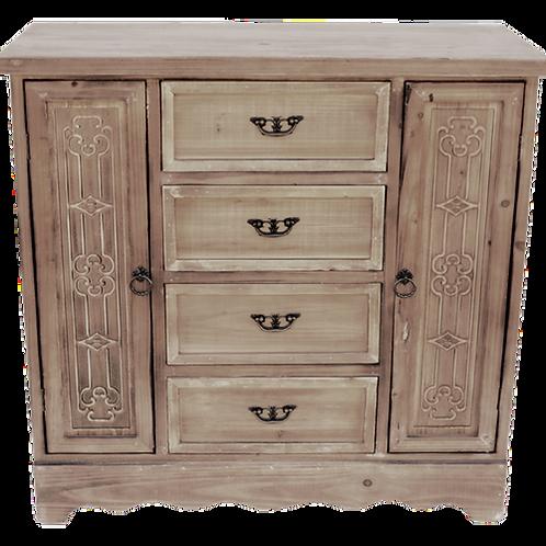 AF062 Cabinet 4 Drawer 2 Door 81x35x75cm