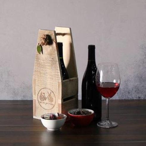 2 bottle wine holders