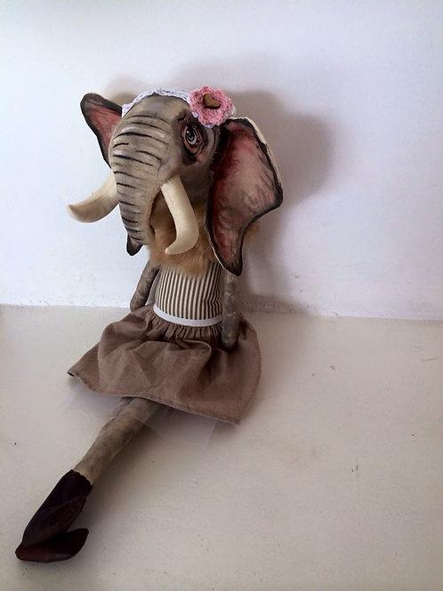 Eliphant Soft toy decor