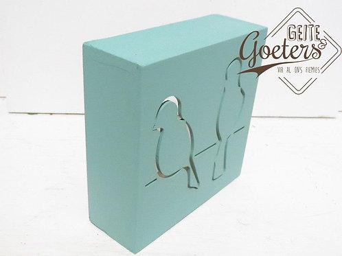 3D boxes: Birds