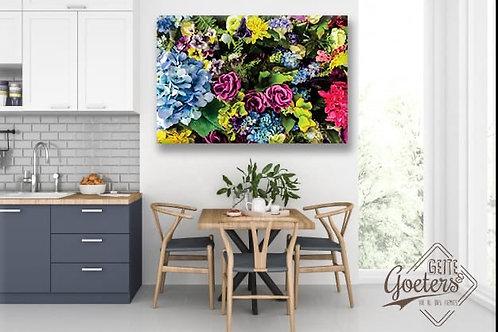 Steel/Wood Succulent colours