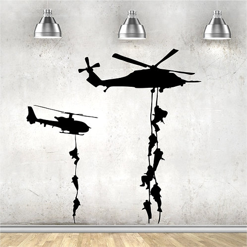 Army Men & Helicopters