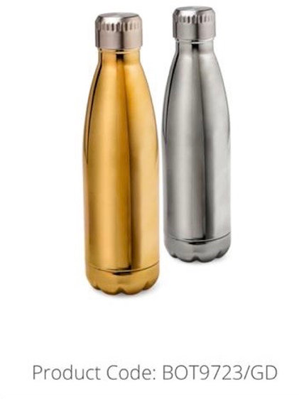 Stryker Bottle with engraving