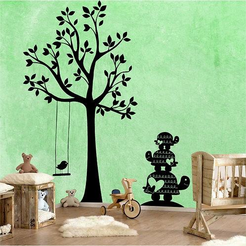 Tree & tortoise stack