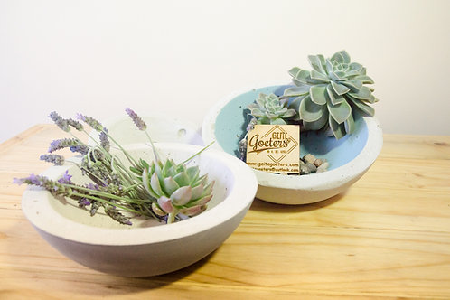 Small Cement Decorative/Food Bowls