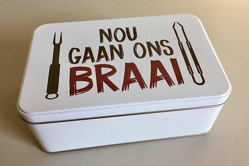 Braai Blik/Braai Tin