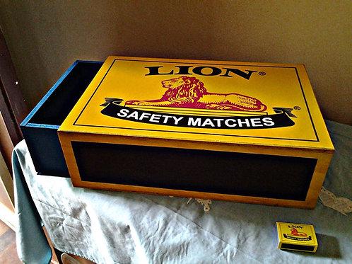 GIANT Match Box Storage