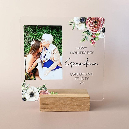 Perspex Board Mothersday