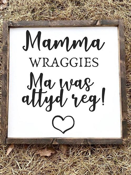 Moedersdag: Altyd Reg
