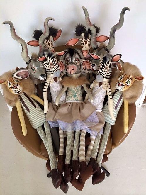 Warthog Soft toy decor