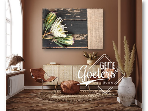 2021 Wood Protea Rusted White