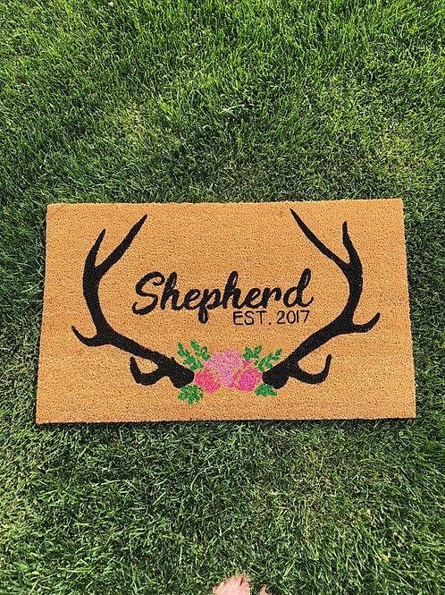 Valentine Antelope Doormat