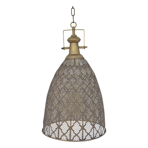 LE073 Hanging Lamp Cut Out 40x70 cm (excl. chain)